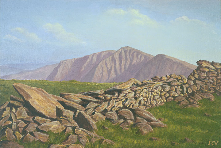 Evening over Kentmere, English Lake District