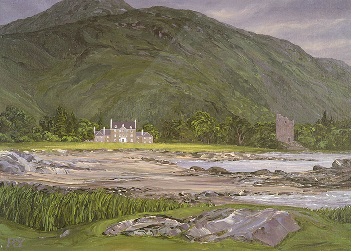 Lochbuie House and Castle, Isle of Mull