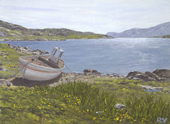 High Water, Amhuinnsuidhe, North Harris