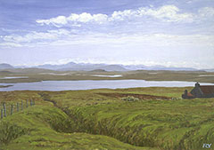 Loch Achmore and the Heights of North Harris