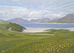 The North Harris Hills from Horgabost, Isle of Harris